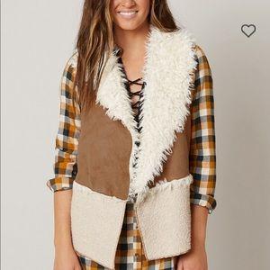 BKE Teddy Bear Flyaway Vest